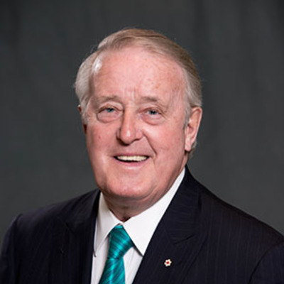 The Right Honourable Brian Mulroney, P.C.